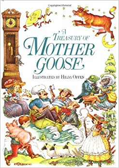 amazon   a treasury of mother goose 9780671501181