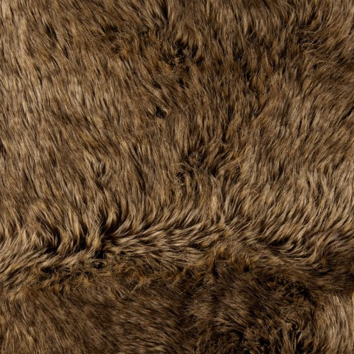 Faux Fur Desert Fox Gold Fabric By The YD