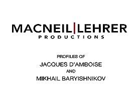 Dance Masters: Jacques D'Amboise and Mikhail Baryshnikov