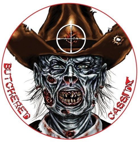 Lyman Target Dot Zombie Target Butchered Cassidy (Pack of 10) (Butchered compare prices)