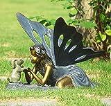 First Friend Fairy Bunny Rabbit Garden Statue Sculpture