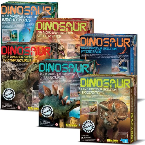 4M Dinosaur Excavation Kits (Complete Set Of 6)