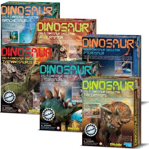 4M Dinosaur Excavation Kits (Complete Set Of 6)
