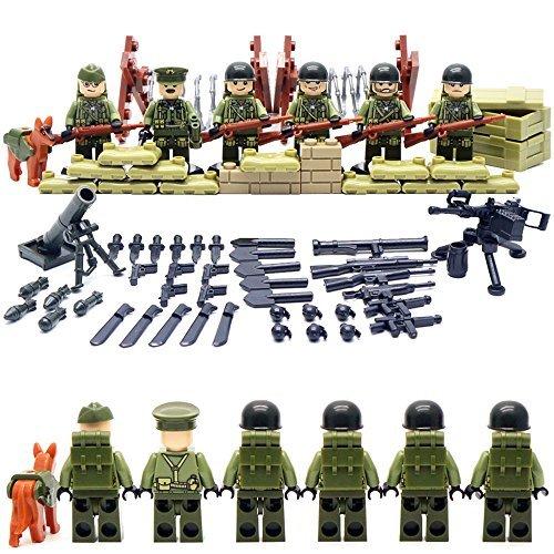susengo-world-war-ii-set-us-commandos-brothers-team-marine-corps-rpg-battlefield-minifigures-buildin