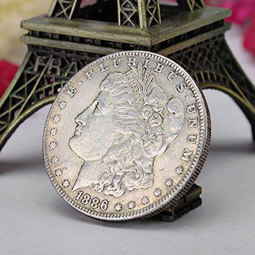 Bluelover COPIARE la vecchia moneta valuta estera imitazione della Morgan Queen Coin Commemorative