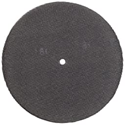Glit 28431, Large Mesh Sandscreen Floor Pad with 6-mm Center Hole, Silicon Carbide, 8\