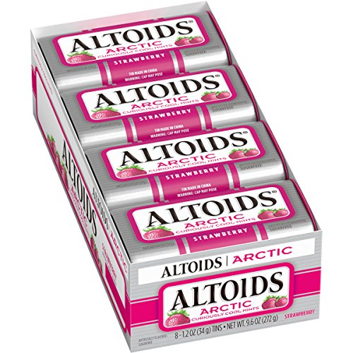 Altoids Arctic Strawberry Mints, 1.2 Ounce (8 Packs) (Chocolate Covered Altoids compare prices)