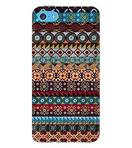 Multi Pattern Design 3D Hard Polycarbonate Designer Back Case Cover for Apple iPhone 5C