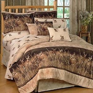 Amazon Com Deer Meadow Queen Comforter Set Deer