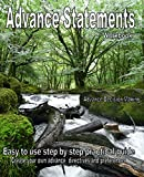 Advance Statement Workbook: Easy to Use Step by Step Practical Guide, Create Your Own Advance Directives and Preferences Becky Shaw