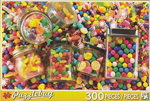 Puzzlebug 300 Piece Puzzle ~ Candies Galore!