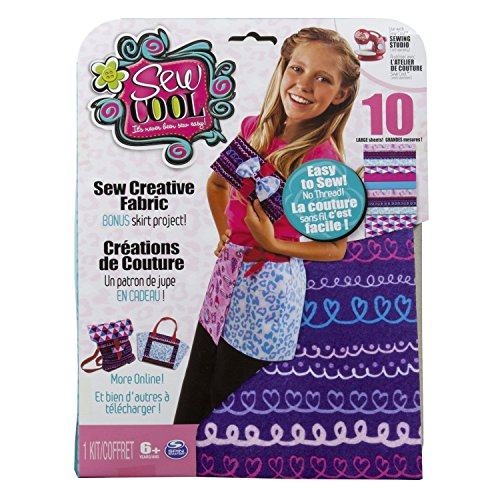 Sew Cool Creative Fabric Kit and Bonus Skirt Project - 1