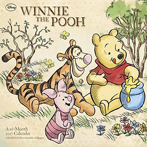 Winnie the Pooh Wall Calendar (2017)