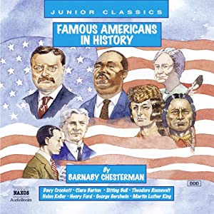Famous Americans in History Audiobook