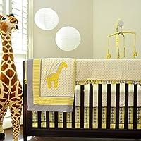 Pam Grace Creations Argyle Giraffe Mix & Match 10 Piece Crib Bedding