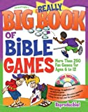 Really Big Book of Bible Games with CD-ROM (Really Big Books)