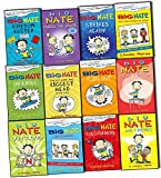 Lincoln Peirce Lincoln Peirce Big Nate 12 Books Collection Pack (Goes for Broke,The Boy with the Biggest Head in the World,Boredom Buster,on a Roll,Flips Out,Strikes Again,From the Top,Out Loud,What Could Possibly Go Wrong,Here Goes Nothing,Friends,Makes