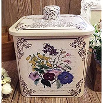 Retro frosted Storage Tins Boxes Practical Sealed Tea/Coffee/Candy/Canisters-04