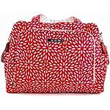 Ju-Ju-Be Be Prepared Diaper Bag with Tote Handles (Scarlet Petals)