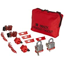 Brady 120/277V Breaker Lockout Pouch