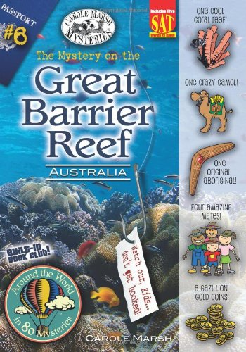 The Mystery on the Great Barrier Reef: Sydney, Austrailia (Around the World in 80 Mysteries)