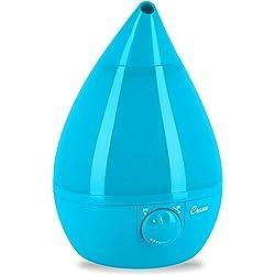 Crane 1-Gal. Ultrasonic Drop-Shape Humidifier (Blue)