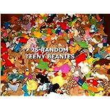 25 Ty Teeny Beanie Babies - Wholesale Lot