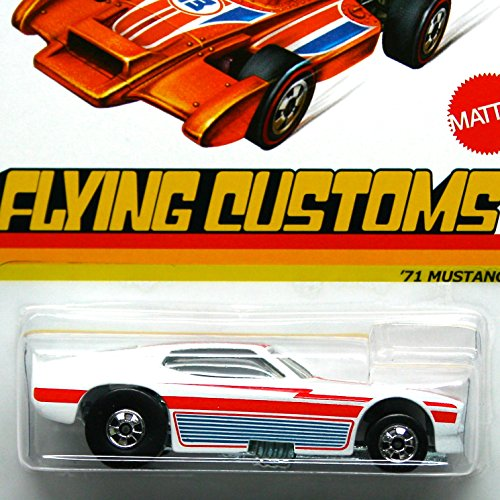 Hot Wheels Flying Customs '71 Mustang White