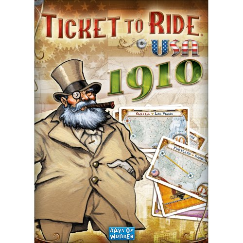 Ticket to Ride: USA 1910 DLC (Mac) [Download] (Ticket 1910 compare prices)