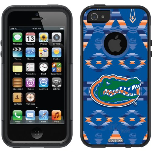 Special Sale University of Florida - Tribal design on a Black OtterBox® Commuter Series® Case for iPhone 5s / 5