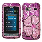 LG: GR700 (Vu Plus) , Blooming Diamante Protector Cover