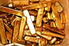 1000g (1 kilo) Grams Gold Recovery Gold Bar Melted Drop Scrap Plated Computer Pins CPU