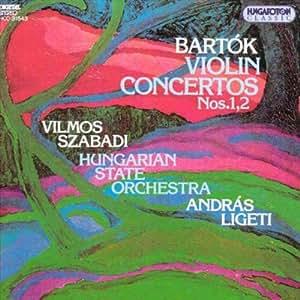 Bela Bartòk concertos pour violon n°1 & 2