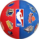 "Spalding 7"" Mini NBA Teams Basketball"