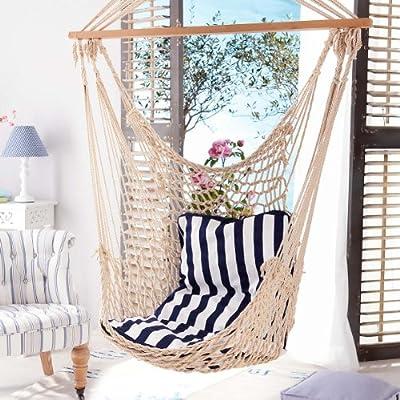 """Hängesessel """"Lucky"""" inklusive Sitzkissen von PureDay auf Gartenmöbel von Du und Dein Garten"""