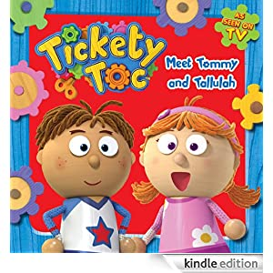 tickety toc coloring pages - tickety toc meet tommy and tallulah kindle edition by
