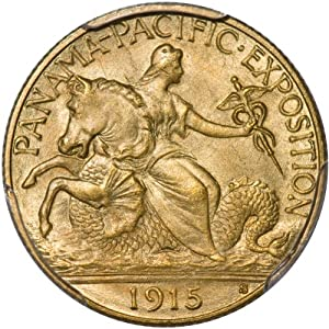 1915-S $2.50 Panama-Pacific PCGS MS67 Gold Commemorative