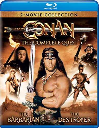 Conan: The Complete Quest (Conan the Barbarian / Conan the Destroyer) [Blu-ray] (Conan Complete Quest compare prices)