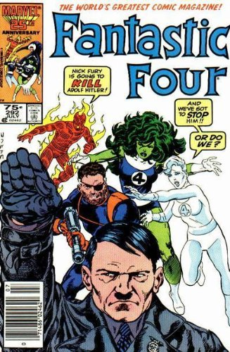 Fantastic Four Vs Hitler