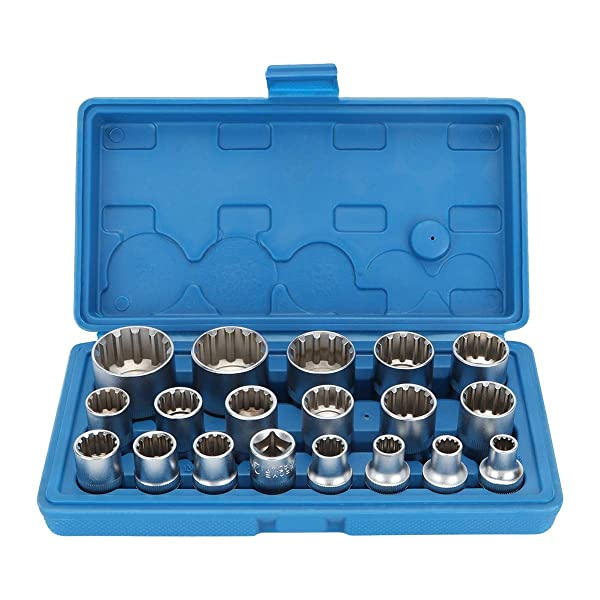 Craftsman 61 pc 3//8 drive Socket Torx Hex Ratchet Wrench Set 42 22 17 10
