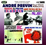 Four Classic Albums (West Side Story / Collaboration / King Size / Pal Joey) Andre Previn