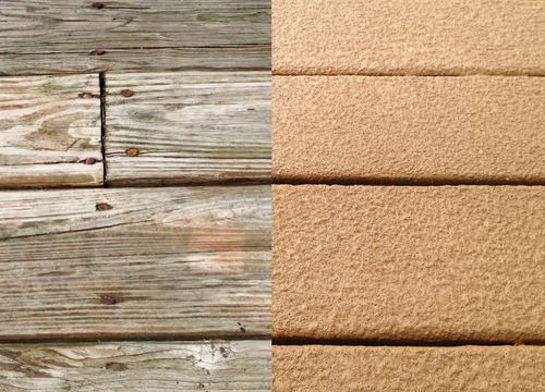 enough Deck Restore to cover the horizontal surfaces of our deck ...