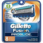 Gillette Fusion Proglide Manual Men's Razor Blade Refills 8 Count (Packaging May Vary)