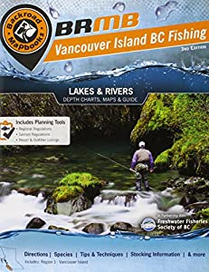 Vancouver Island BC Fishing Mapbook: Region 1: Vancouver Island (Fishing Mapbooks) by Mussio Ventures