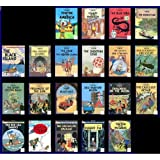The Adventures Of Tintin by Hergé (1991 Series) (21 book set)