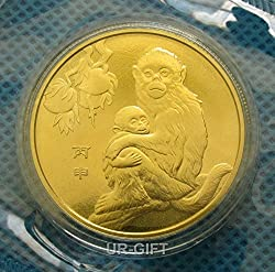 Newly issued! 2016 Year of the Monkey Chinese Lunar Zodiac Commemorative Coin - Shenyang Mint by UR-GIFT