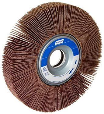 """Norton Metalite R265 Abrasive Flap Wheel, 1"""" Arbor, Aluminum Oxide"""