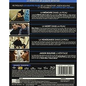 Jason Bourne - L'Intégrale - [Edition Limitée - Boitier Métal] - Intégrale Blu-Ray 1 à 4 [Pack