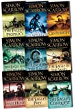 Simon Scarrow Simon Scarrow Eagle Series 9 Books Collection Pack Set RRP: £71.91 (When the Eagle Hunts, Under the Eagle, Centurion, The Gladiator, The Eagles Prophecy, The Eagle and the Wolves, The Eagle's Conquest, The Eagles Prey, The Eagle in the San