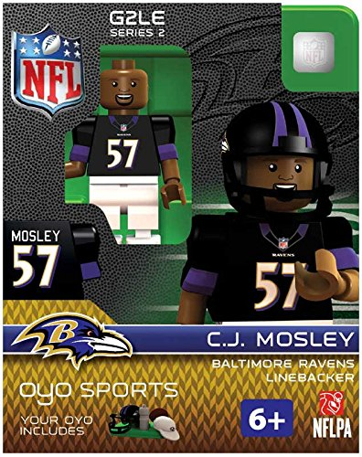 C.J. Mosley OYO NFL Baltimore Ravens G2 Series 2 Mini Figure Limited Edition